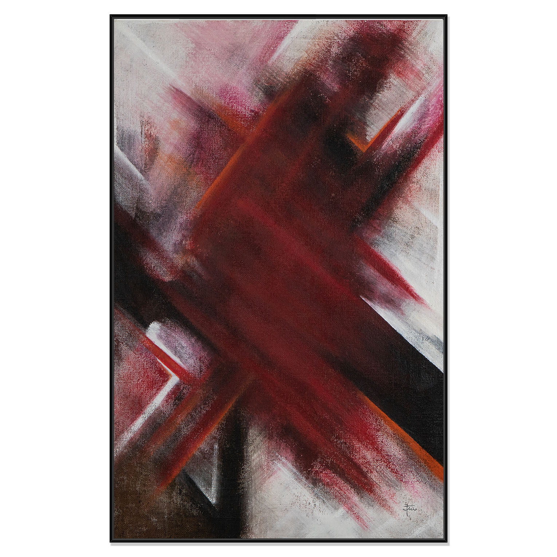 RED POPPY - QBX DESIGN quadri astratti