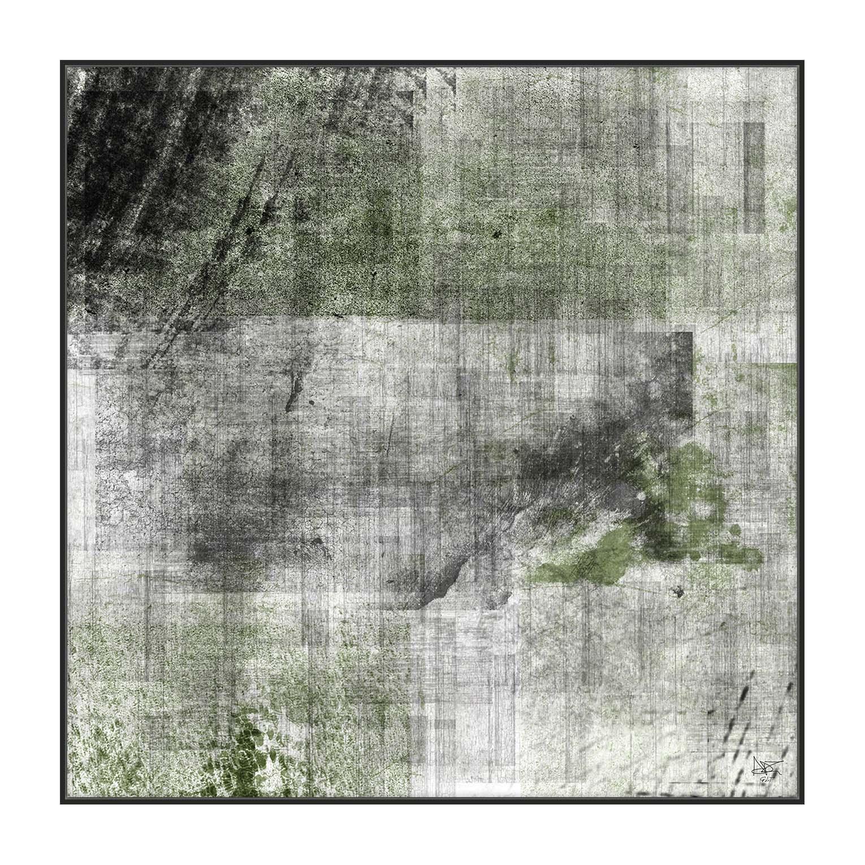 X-GREEN - QBX DESIGN QUADRI ASTRATTI