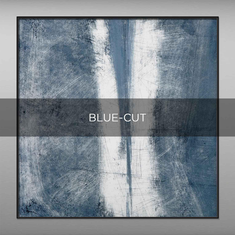 BLUE-CUT - QBX DESIGN QUADRI ASTRATTI