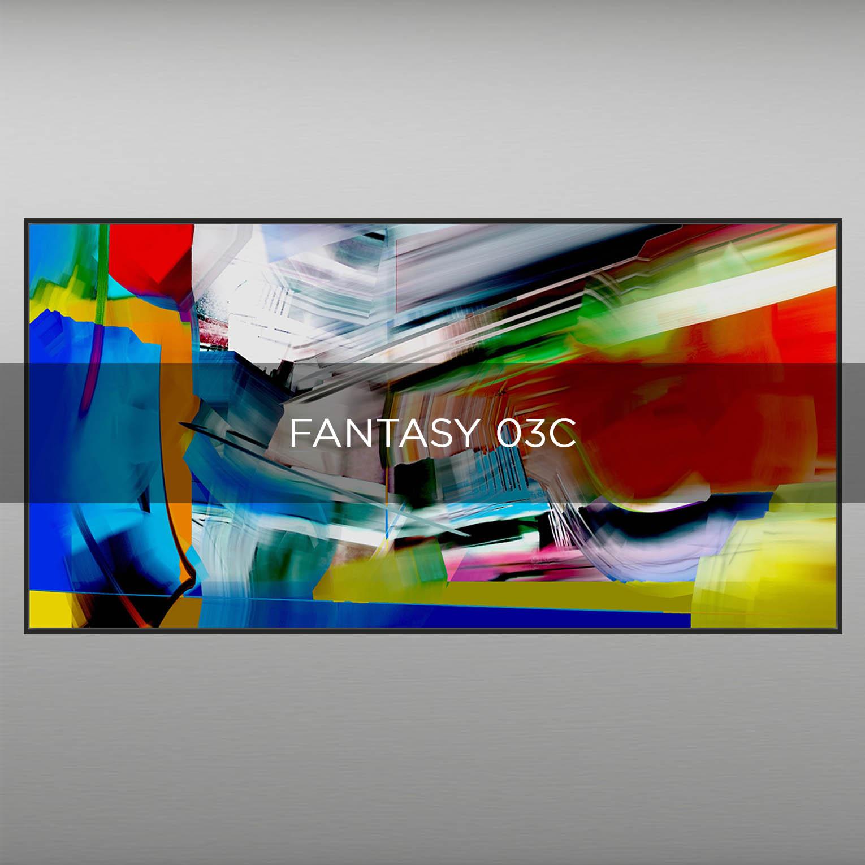 FANTASY 03C - QBX DESIGN QUADRI ASTRATTI