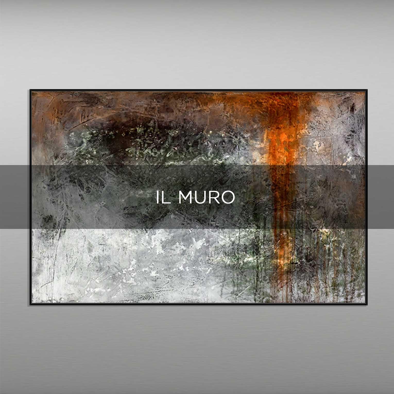 IL MURO - QBX DESIGN QUADRI ASTRATTI