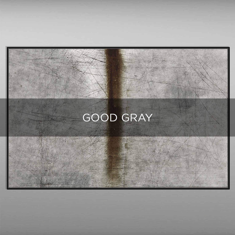 GOOD GRAY - QBX DESIGN QUADRI ASTRATTI