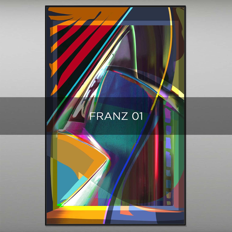 FRANZ 01 - QBX DESIGN QUADRI ASTRATTI