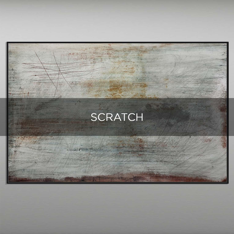 SCRATCH - QBX DESIGN QUADRI ASTRATTI