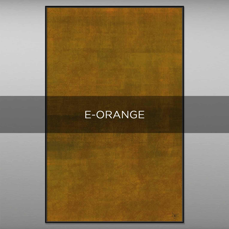 E-ORANGE - QBX DESIGN QUADRI ASTRATTI