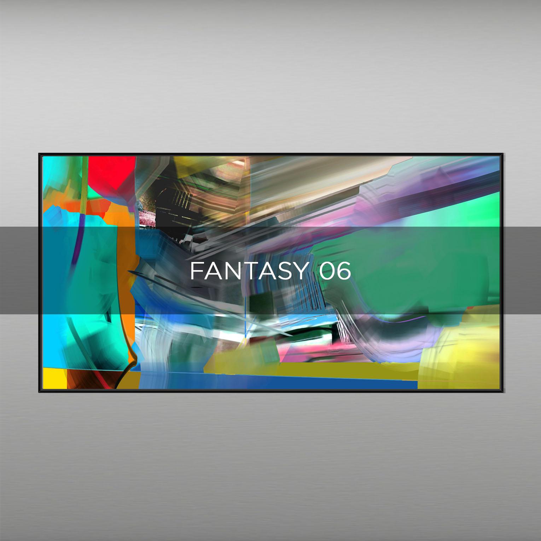 FANTASY 06 - QBX DESIGN QUADRI ASTRATTI