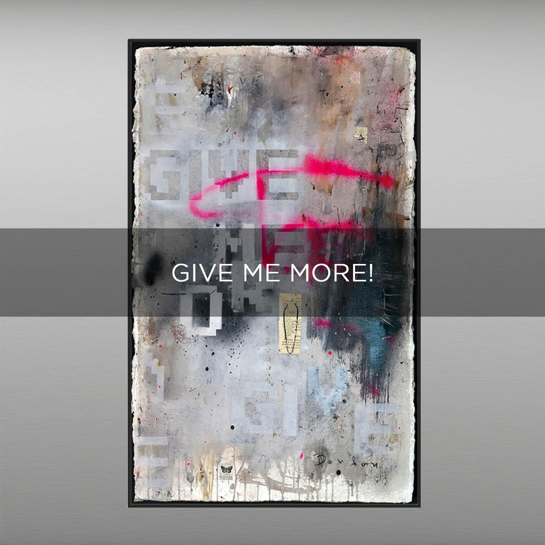GIVE ME MORE! - QBX DESIGN QUADRI ASTRATTI