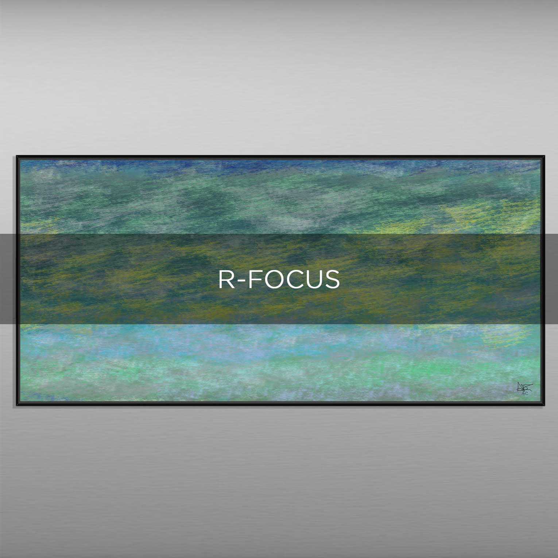 R-FOCUS - QBX DESIGN QUADRI ASTRATTI