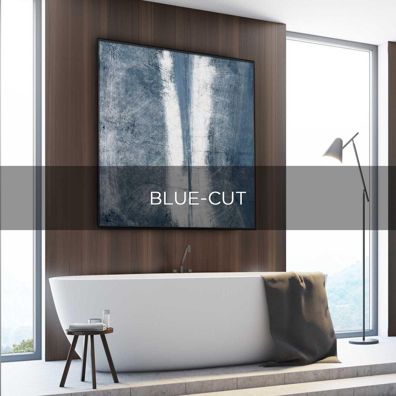 BLUE-CUT - QBX DESIGN QUADRO D'ARREDO PER IL SETTORE LUXORY