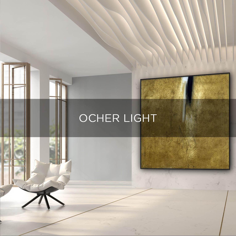 OCHER LIGHT - QBX DESIGN QUADRO D'ARREDO PER IL SETTORE LUXORY