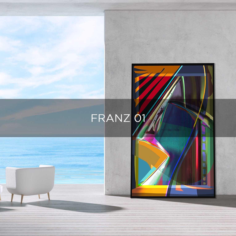 FRANZ 01  - QBX DESIGN QUADRO D'ARREDO PER IL SETTORE LUXORY