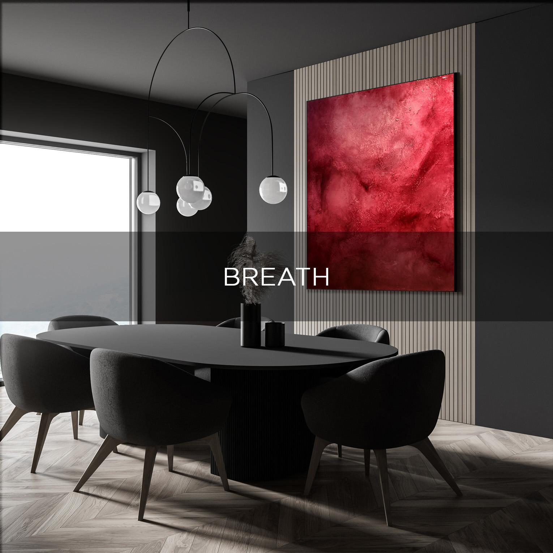 BREATH - QBX DESIGN QUADRO D'ARREDO PER IL SETTORE LUXORY