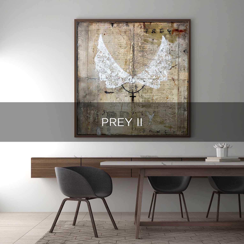 PREY II - QBX DESIGN QUADRO D'ARREDO PER IL SETTORE LUXORY