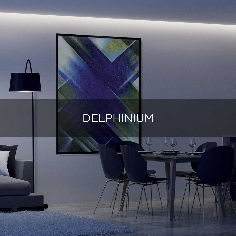 DELPHINIUM - QBX DESIGN QUADRO D'ARREDO PER IL SETTORE LUXORY