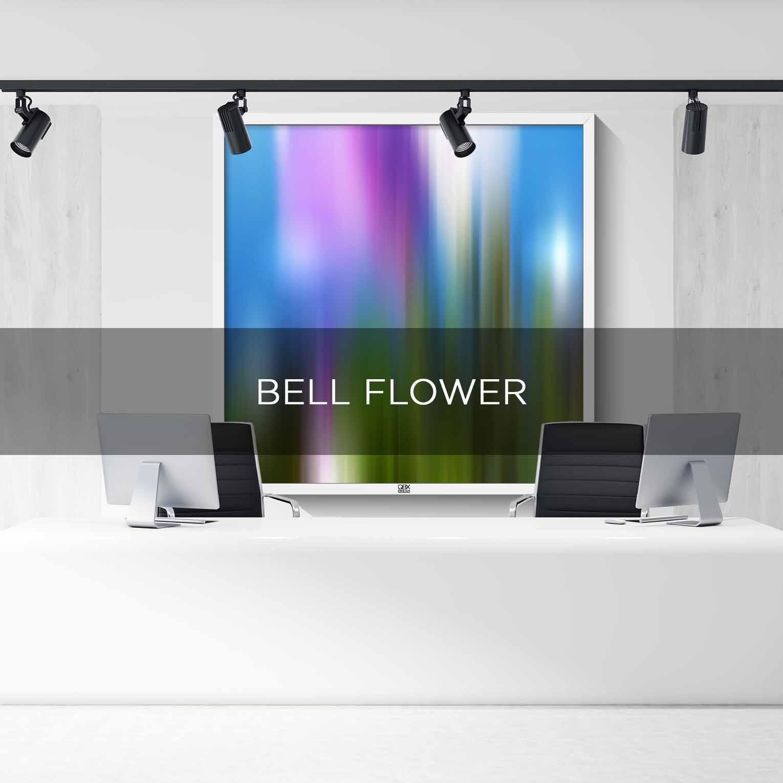 BELL FLOWER - QBX DESIGN QUADRO D'ARREDO PER IL SETTORE LUXORY