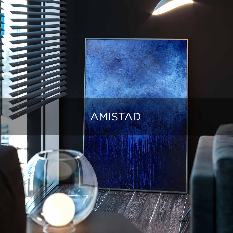 AMISTAD - QBX DESIGN QUADRO D'ARREDO PER IL SETTORE LUXORY