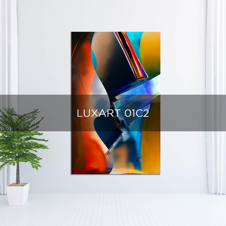 LUXART 01C2 - QBX DESIGN QUADRO D'ARREDO PER IL SETTORE LUXORY