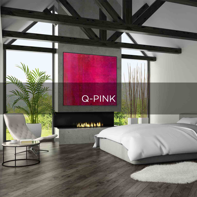Q-PINK - QBX DESIGN QUADRO D'ARREDO PER IL SETTORE LUXORY