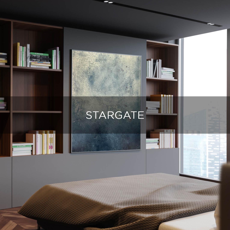 STARGATE - QBX DESIGN QUADRO D'ARREDO PER IL SETTORE LUXORY