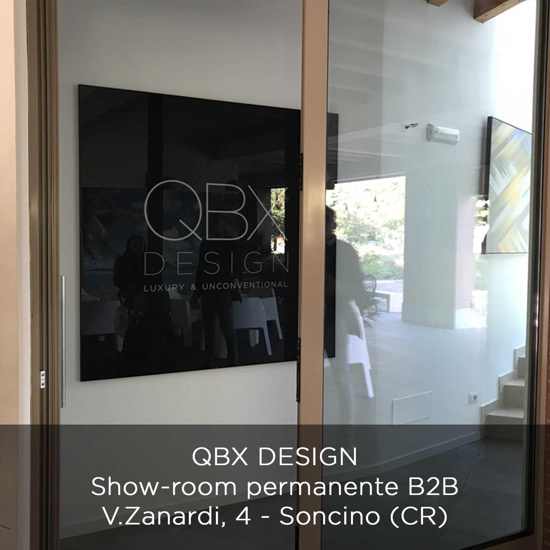 show room qbx design