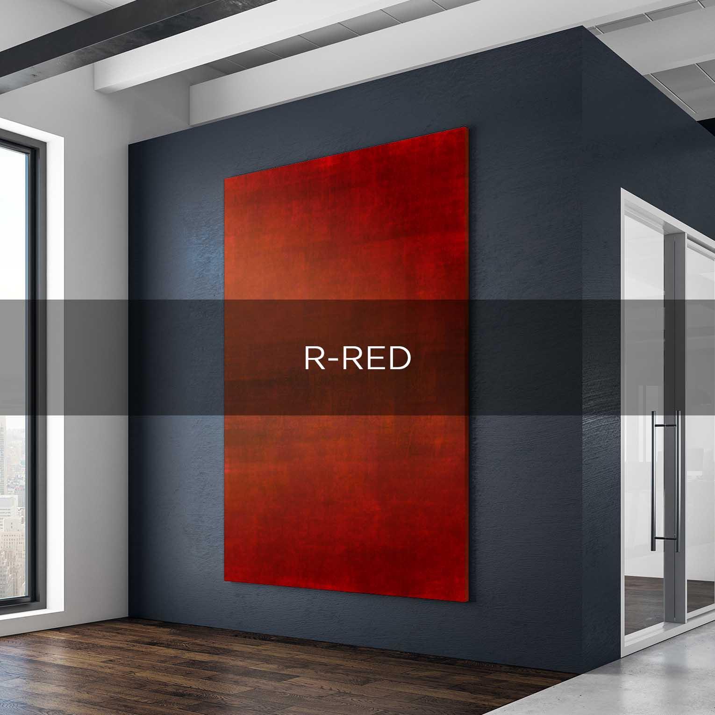 R-RED - QBX DESIGN QUADRO D'ARREDO PER IL SETTORE LUXORY