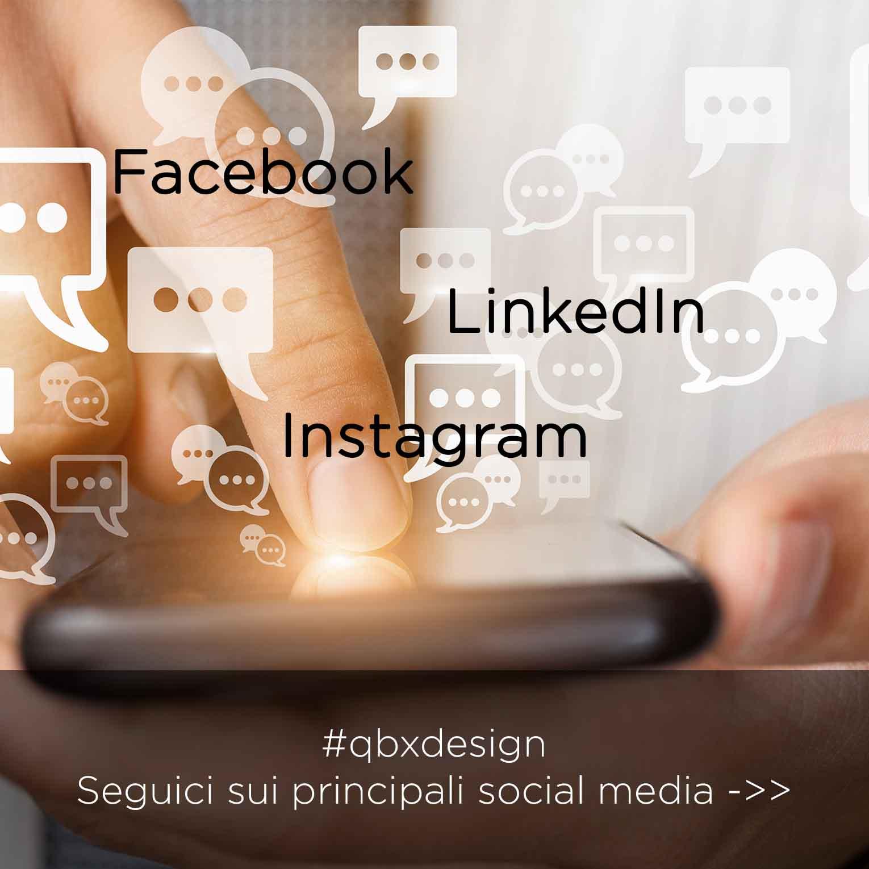 social media QBX DESIGN