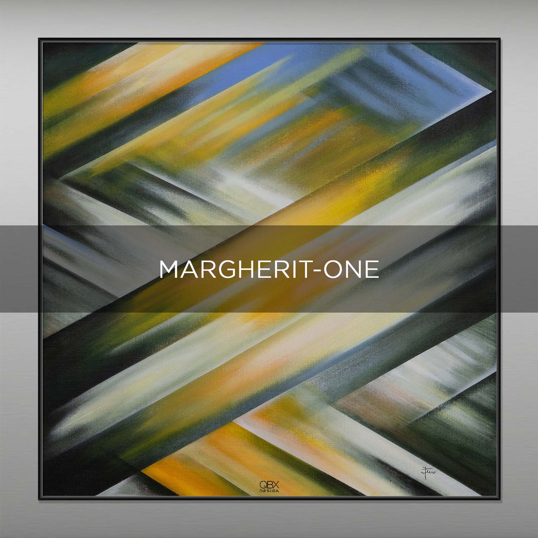 MARGHERIT ONE - QBX DESIGN QUADRI ASTRATTI
