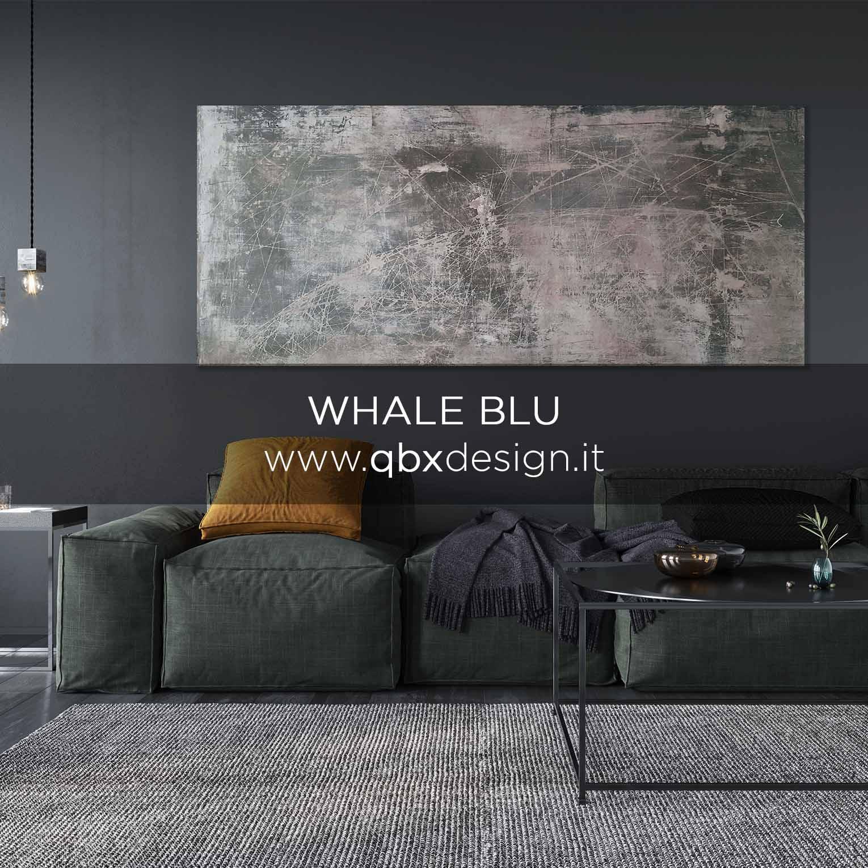 anteprima Whale blu qbx design