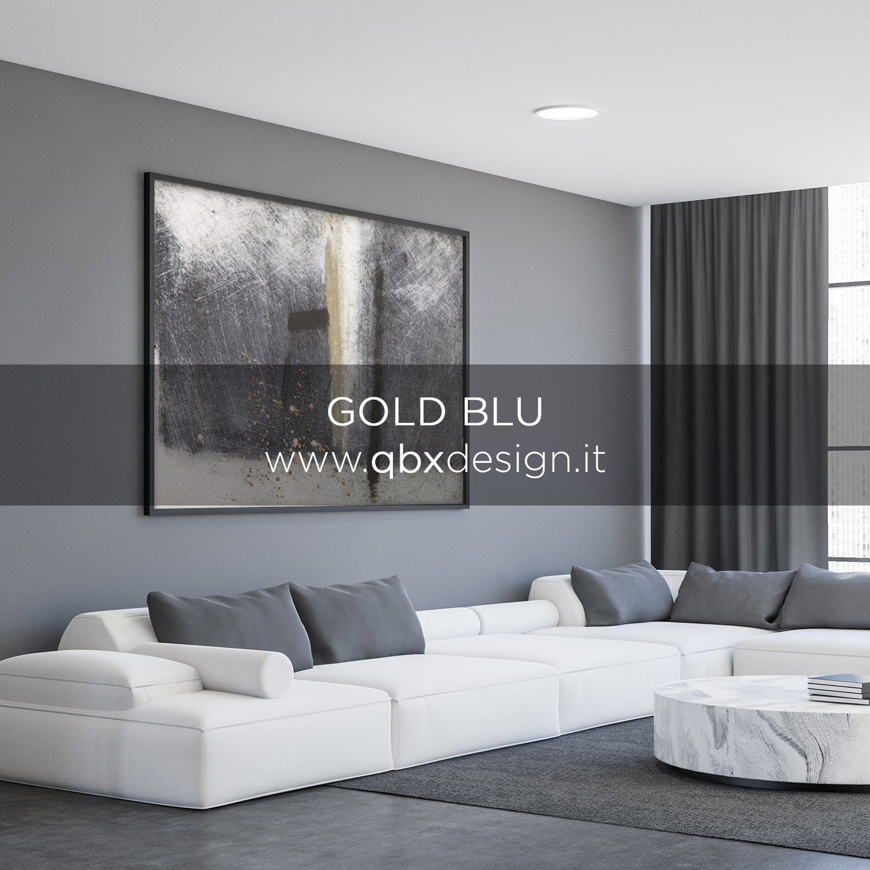Anteprima Gold Blu qbx design