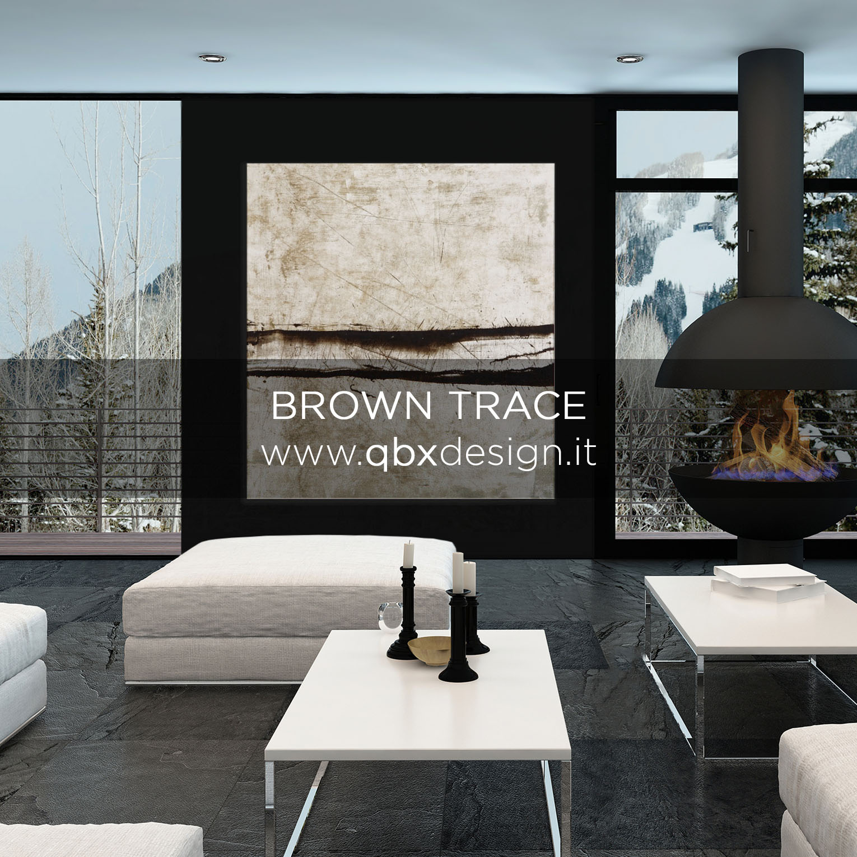 Anteprima Brown Trace qbx design