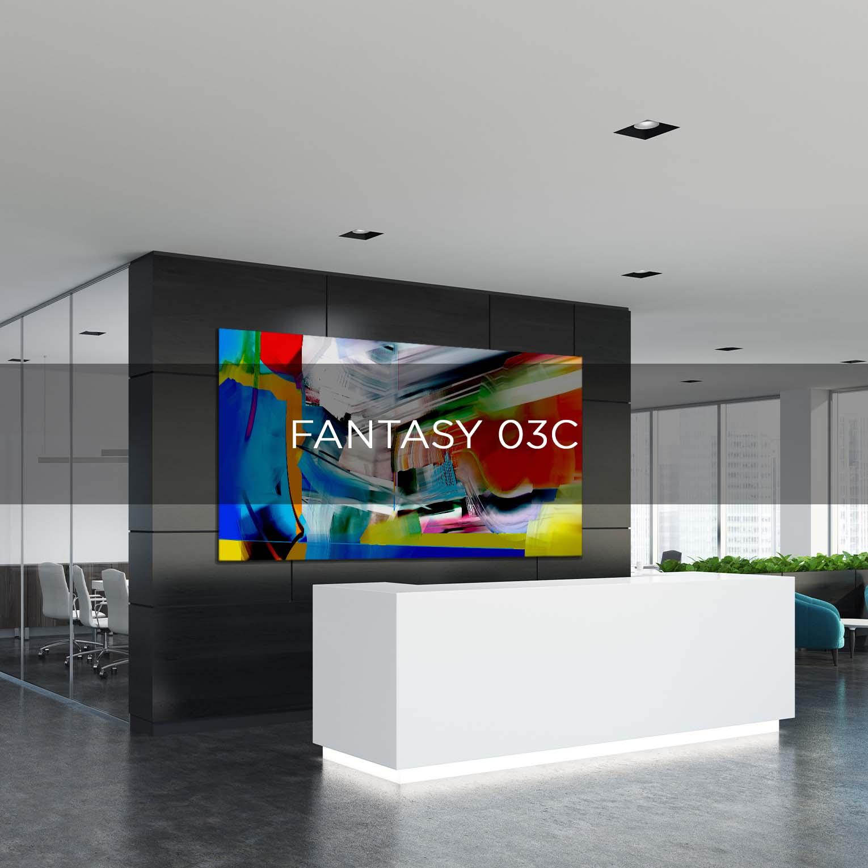 FANTASY 03C - QBX DESIGN QUADRO D'ARREDO PER IL SETTORE LUXORY