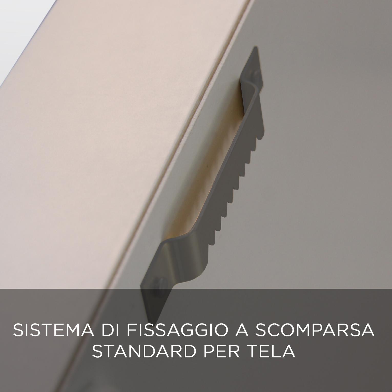FISSAGGIO TELA QBX DESIGN