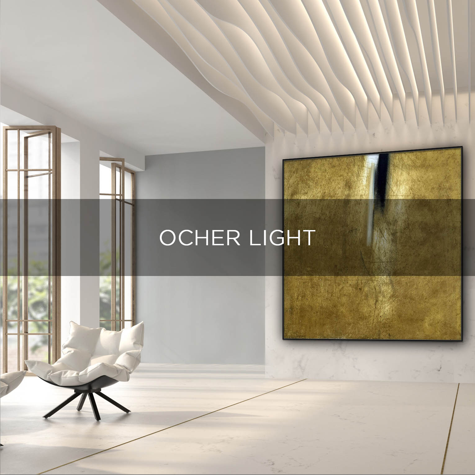 OCHER LIGHT - QBX DESIGN