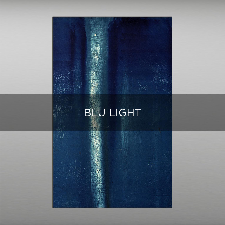 BLU LIGHT - QBX DESIGN QUADRI ASTRATTI