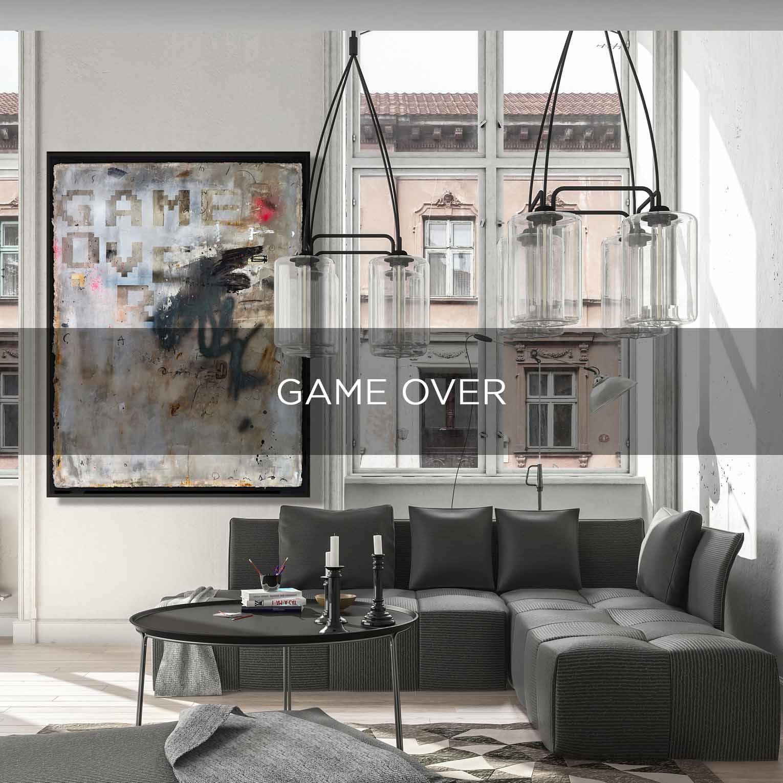 GAME OVER - QBX DESIGN QUADRO D'ARREDO PER IL SETTORE LUXORY