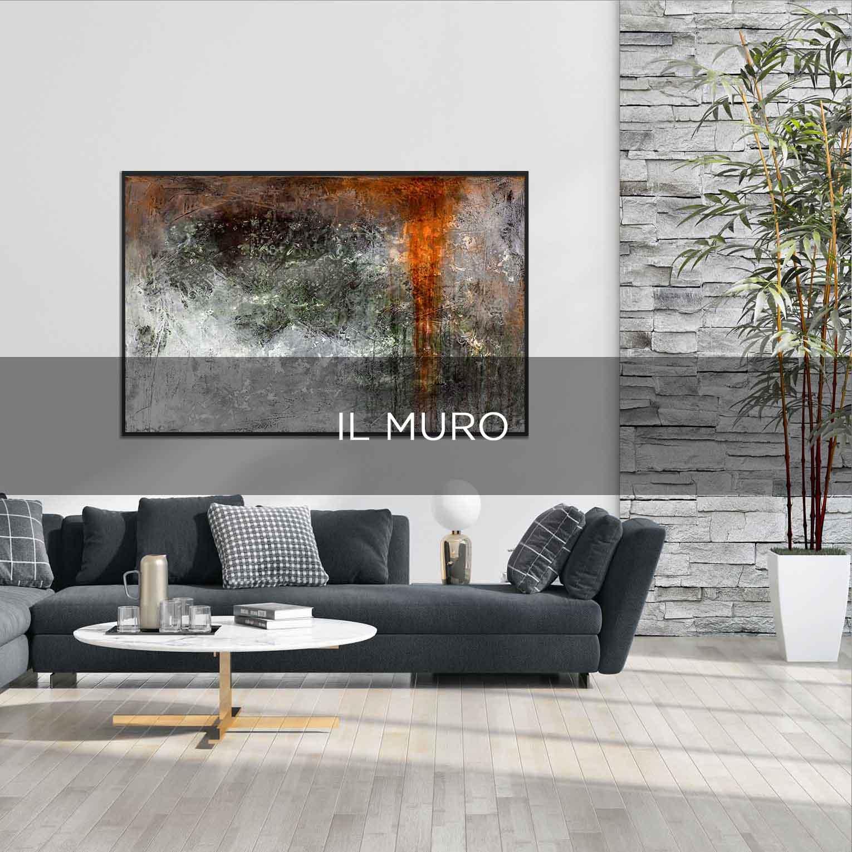IL MURO - QBX DESIGN QUDRO D'ARREDO PER IL LUXORY DESIGN