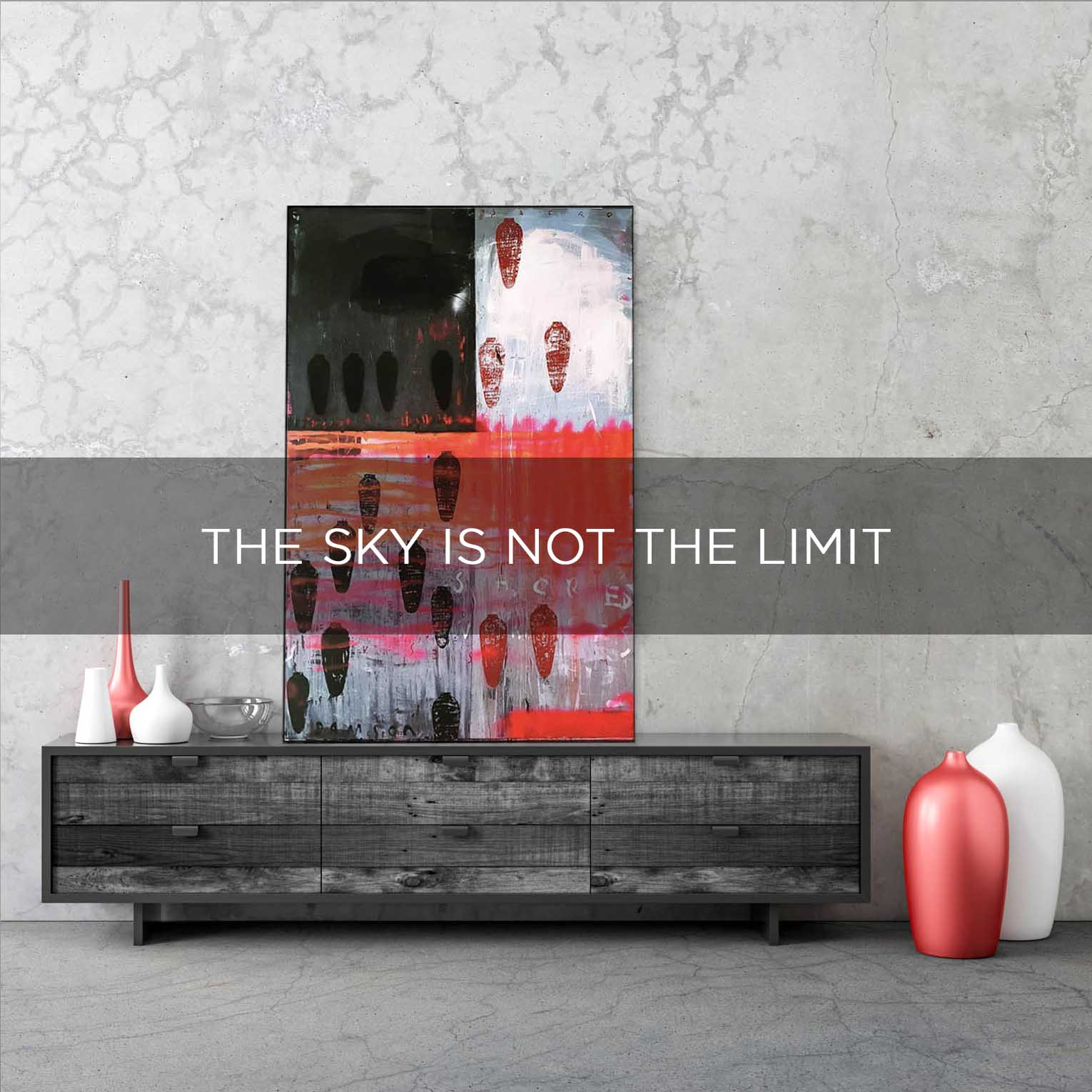 THE SKY IS NOT THE LIMIT - QBX DESIGN QUADRO D'ARREDO PER IL SETTORE LUXORY DESIGN