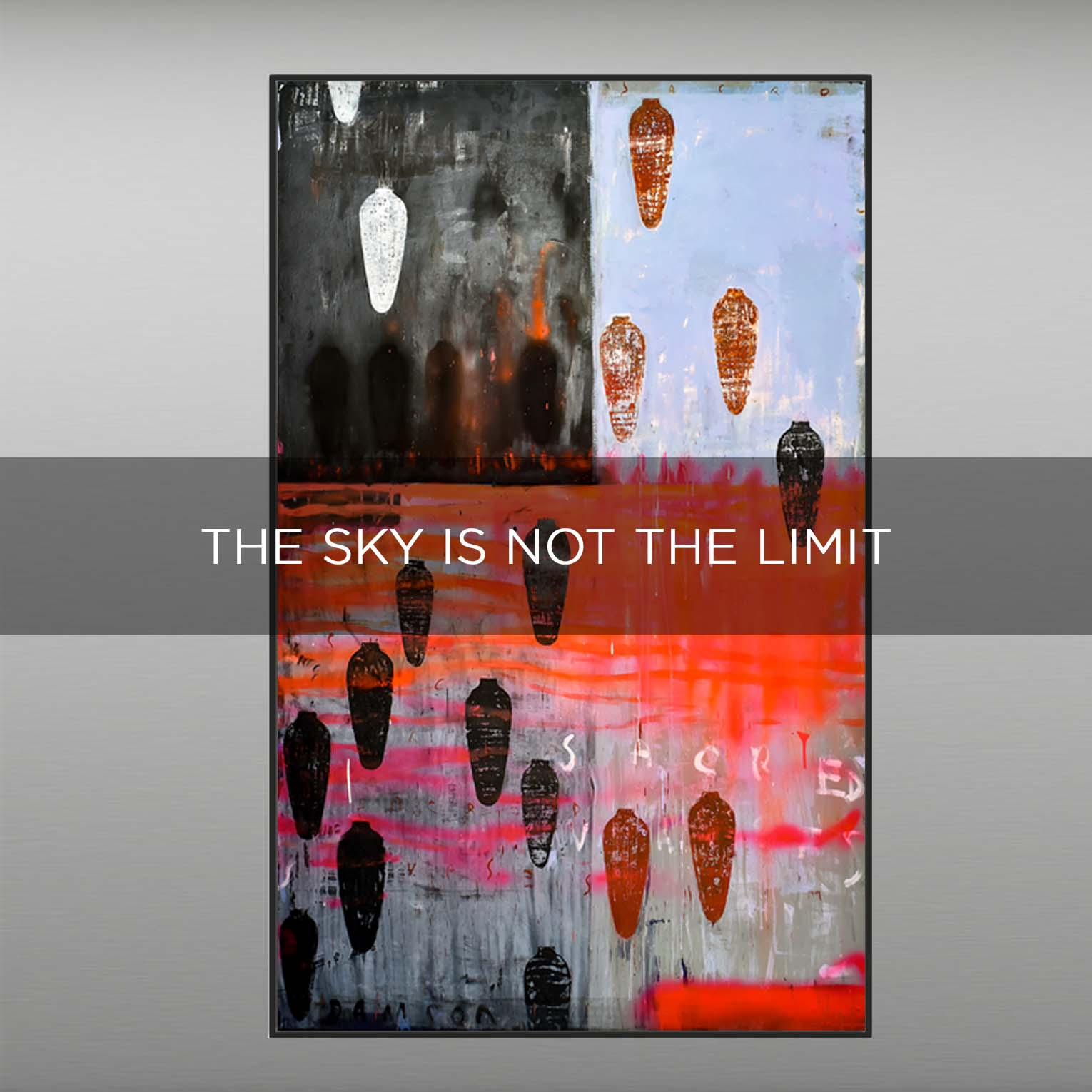 THE SKY IS NOT THE LIMIT - QBX DESIGN QUADRI ASTRATTI