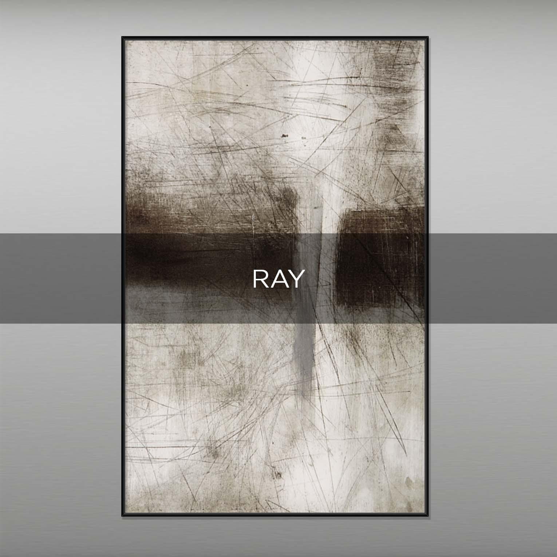RAY - QBX DESIGN QUADRI ASTRATTI