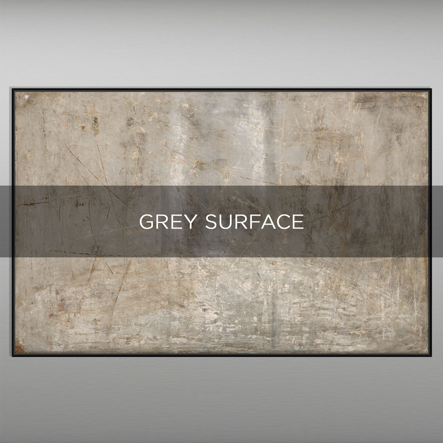 GREY SURFACE - QBX DESIGN QUADRI ASTRATTI