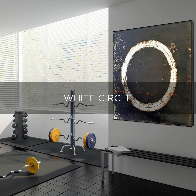 WHITE CIRCLE - QBX DESIGN QUADRO D'ARREDO PER IL SETTORE LUXORY