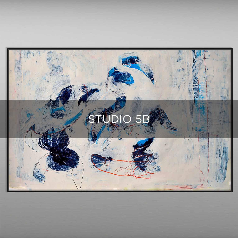 STUDIO 5B - QBX DESIGN QUADRI ASTRATTI