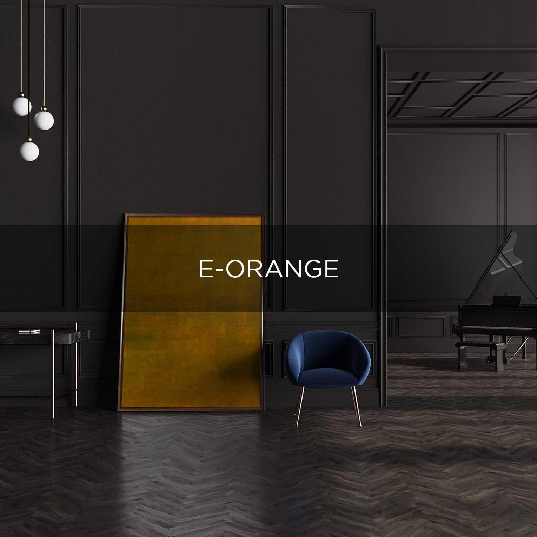 E-ORANGE - QBX DESIGN QUADRO D'ARREDO PER IL SETTORE LUXORY