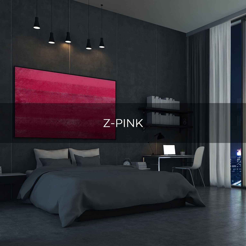 Z-PINK - QBX DESIGN QUADRO D'ARREDO PER IL SETTORE LUXORY