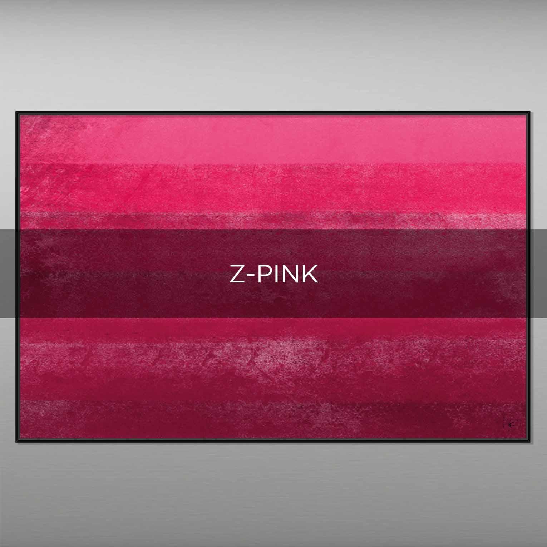 Z-PINK - QBX DESIGN QUADRI ASTRATTI