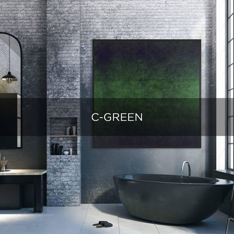 C-GREEN- QBX DESIGN QUADRO D'ARREDO PER IL SETTORE LUXORY