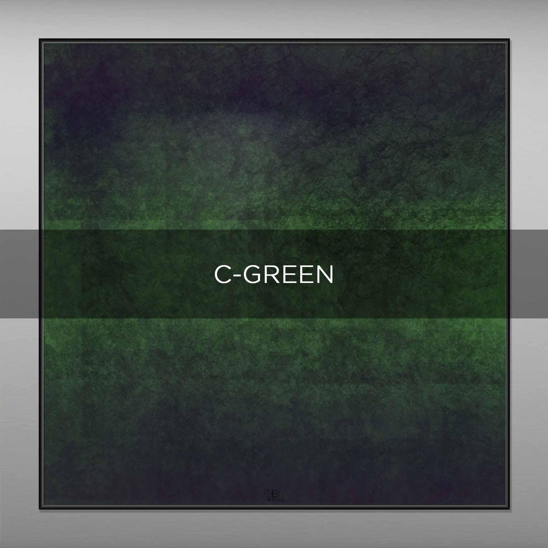 C-GREEN - QBX DESIGN QUADRI ASTRATTI