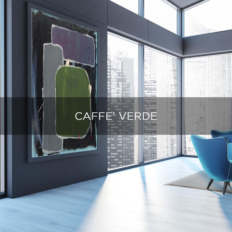 CAFFE' VERDE - QBX DESIGN QUADRO D'ARREDO PER IL SETTORE LUXORY