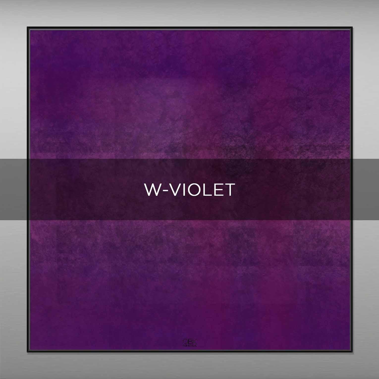 W-VIOLET - QBX DESIGN QUADRI ASTRATTI
