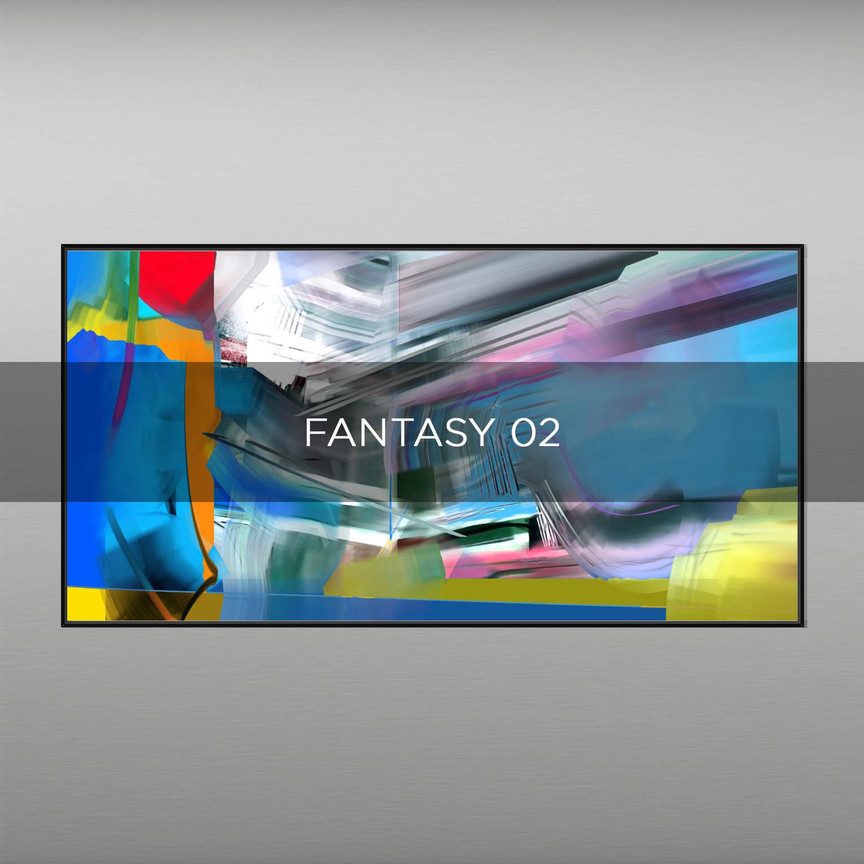 FANTASY 02 - QBX DESIGN QUADRI ASTRATTI